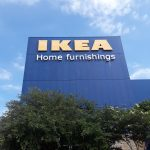 IKEA Channel Letter Sign Installation