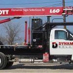Sign Installation & Repair Truck