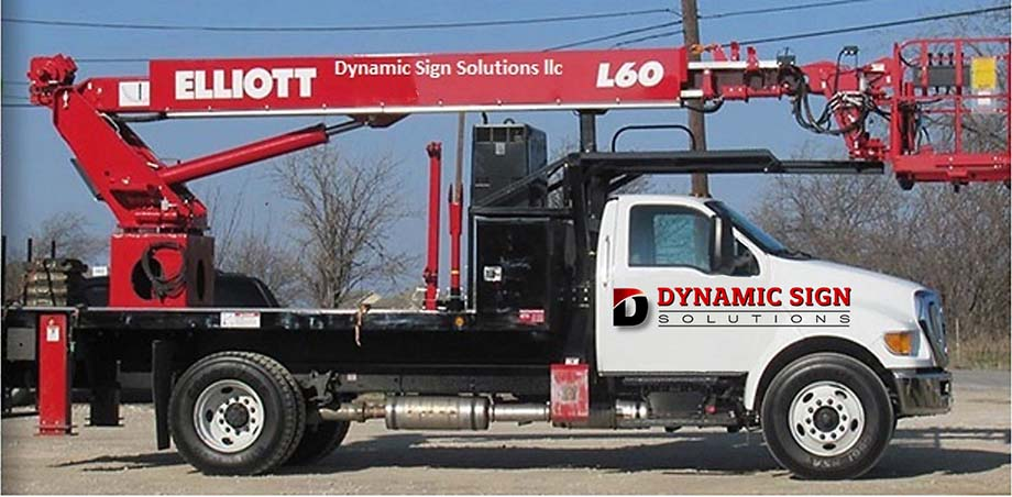 Sign Installation & Repair Truck