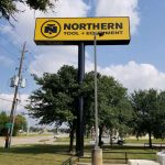 Northern Tool + Equipment Sign #2