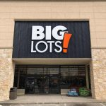 Big Lots Store Sign