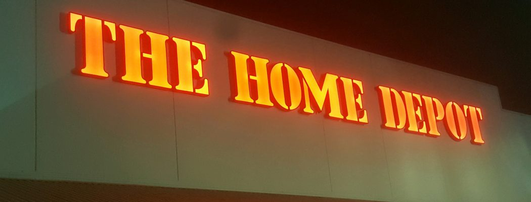 Home Depot Electronic Commercial Signage